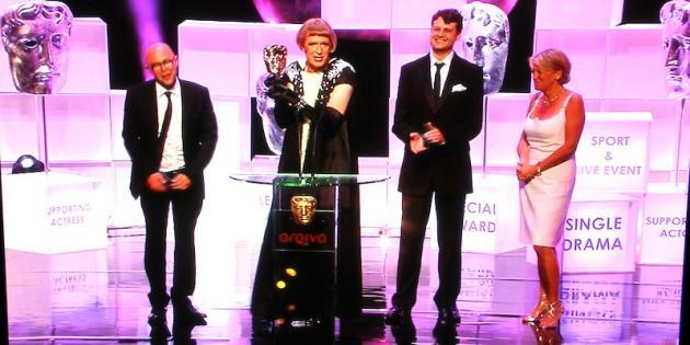 Neil Crombie Grayson BAFTA